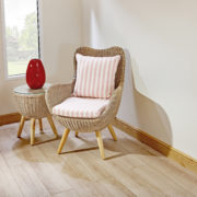 Butterfly almond cane chair