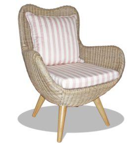 cane butterfly chair