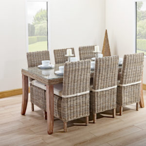 6 person table and chairs set
