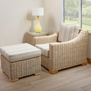 Chambray rattan sofa set