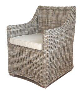 kubu cane arm chair