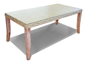 chambray rectangular dining table