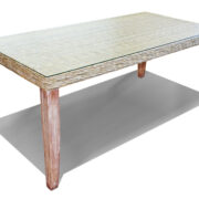 CHAMBRAY RECT DINING TABLE