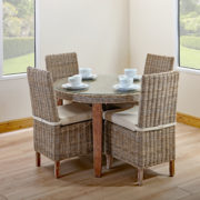 round small table and chair set
