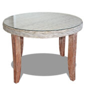 CHAMBRAY ROUND DINING TABLE