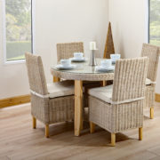4 person round table set