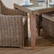 Chanbray dining detail kubu grey