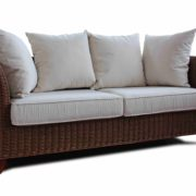 Eva rattan 2 seat sofa