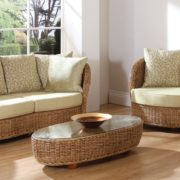 Evolution rattan sofa set