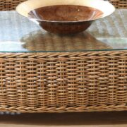 Evolution rattan coffee table
