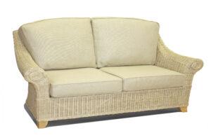 Fresco 3 seat rattan sofa