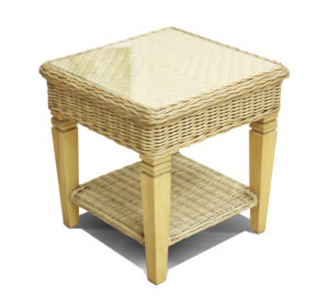 fresco rattan side table