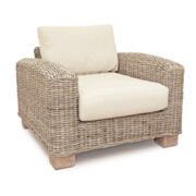 KASAMI ARM CHAIR LOW