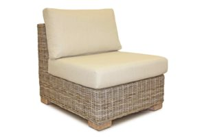Keisley rattan modular sofa