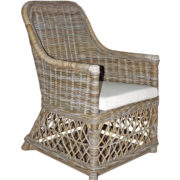 arm chair with detailed design