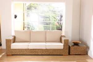 living room sofa set with small table