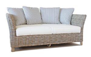 Tangley 2 seat rattan sofa