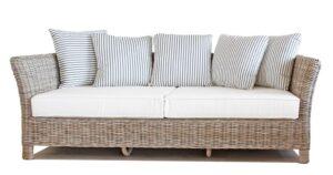 Tangley rattan 3 seat sofa