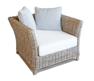 Tangley rattan arm chair