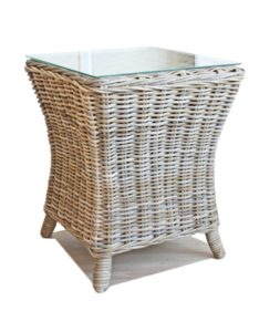 Tangley rattan side table