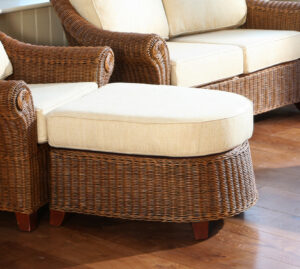 fresco rattan foot stool