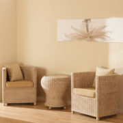 Rimini cane arm chairs